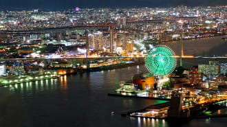 252mから大阪を一望!「さきしまコスモタワー展望台」