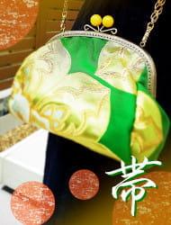 日本の着物帯を使って作る帯バッグ&インテリア帯パネル