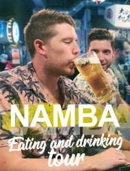Deep Food Tour and Bar Hopping in Namba