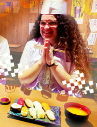 寿司職人のように握り寿司・デコ巻き寿司を作ろう!