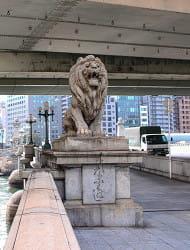 ライオン橋(難波橋)