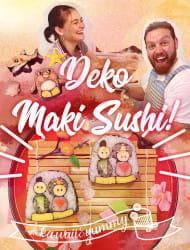 制作可爱的造型寿司卷!!