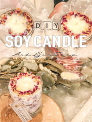 Handmade Candle・Gem Soap Making Experience!