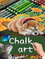 Colorful Chalk Art Experience