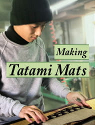 the Class of Making Tatami Mats with a Craftsman