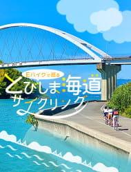 E-Bike guided cycling tour through Tobishima Kaido