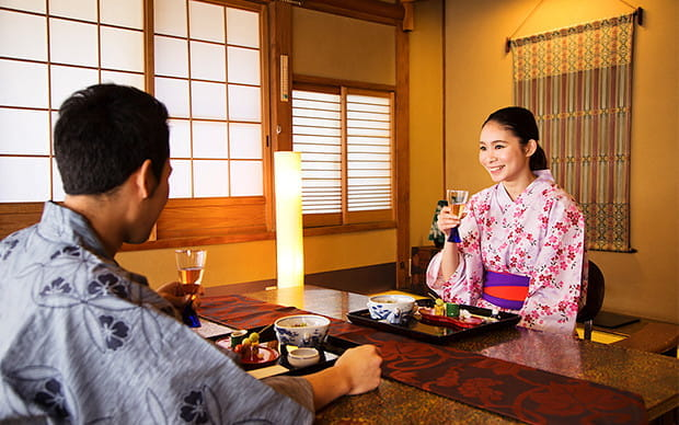 Experience Authentic Japanese Culture in a Traditional Style Inn!