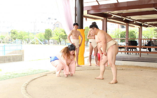 Sumo Experience and Chanko Nabe Lunch, a Jam-Packed 2 Hours!