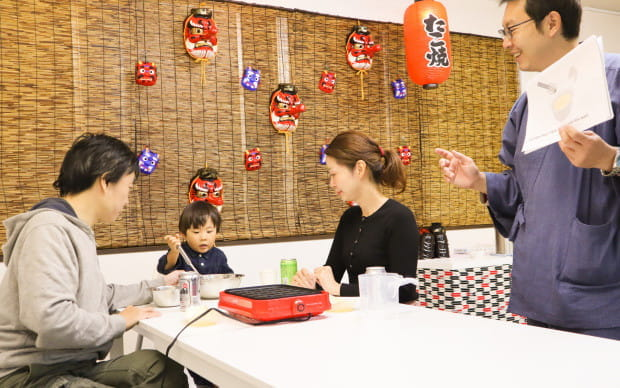 """Takoyaki Party! Takoyaki Cooking Class """"MUGEN"""""""