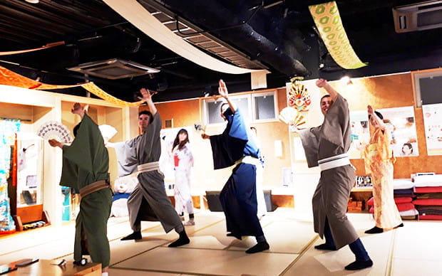 [西川流] 日本傳統舞蹈體驗