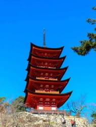 Itsukushima Shrine Five-storied Pagoda