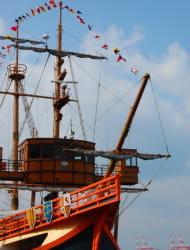 帆船型観光船 サンタマリア デイクルーズ